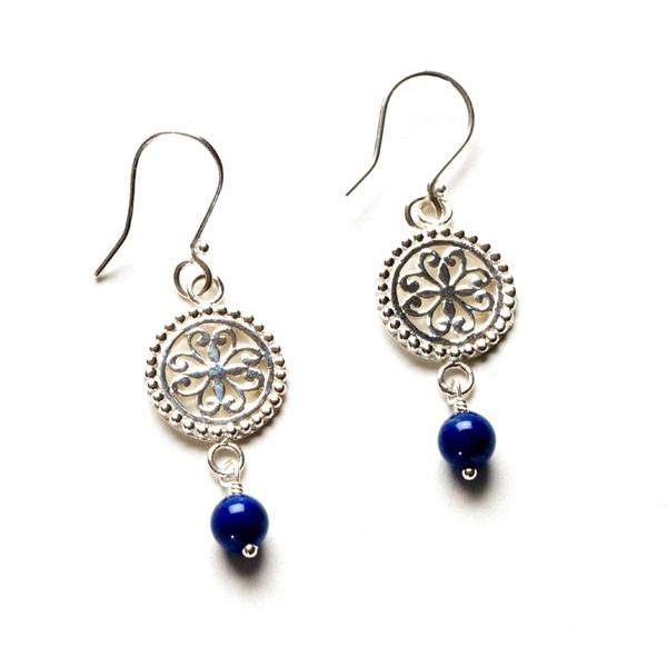 Southern Gates Blue Lapis Earrings