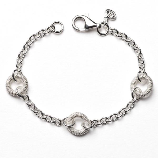 CARGO®  Italian Sterling Silver Link Bracelet, 7.5 in KAR564