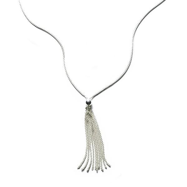 CARGO Sterling Silver Tassel Necklace (KAR572)