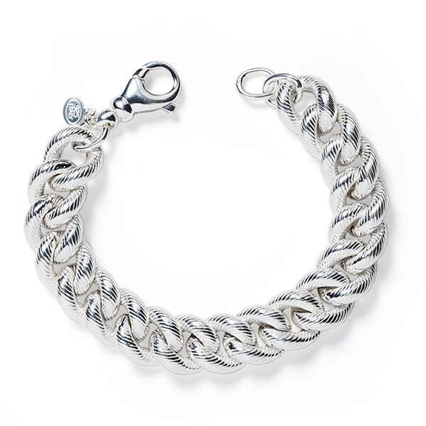 CARGO™ Twisted Double Link SS Bracelet
