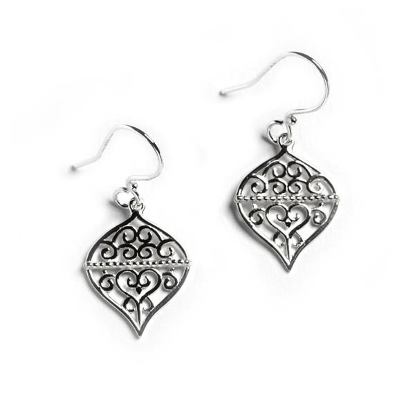 Southern Gates® Filigree Ornament Earrings (E502)