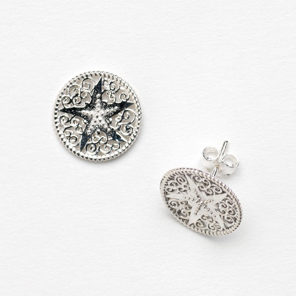 Southern Gates Collection Harbor Series Starfish Earrings (E304)