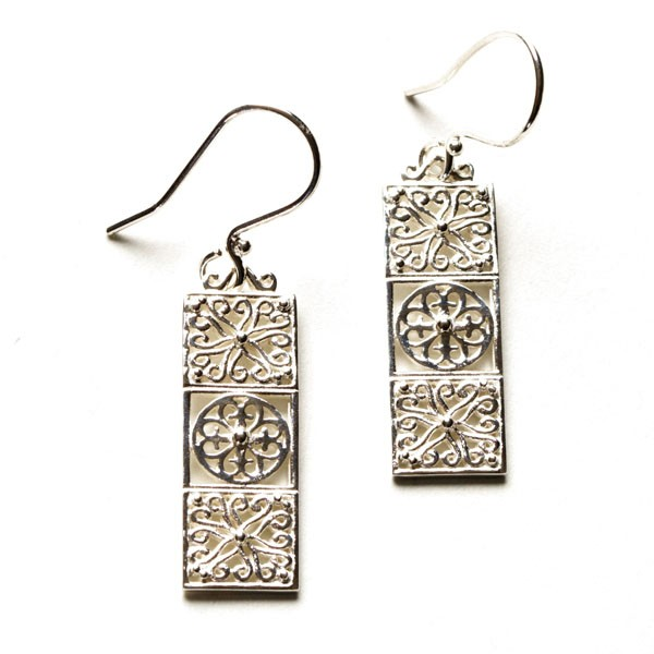 Southern Gates Balcony Gate Earrings