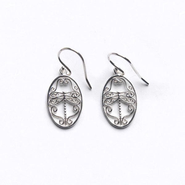 Southern Gates Small Dragonfly Earrings
