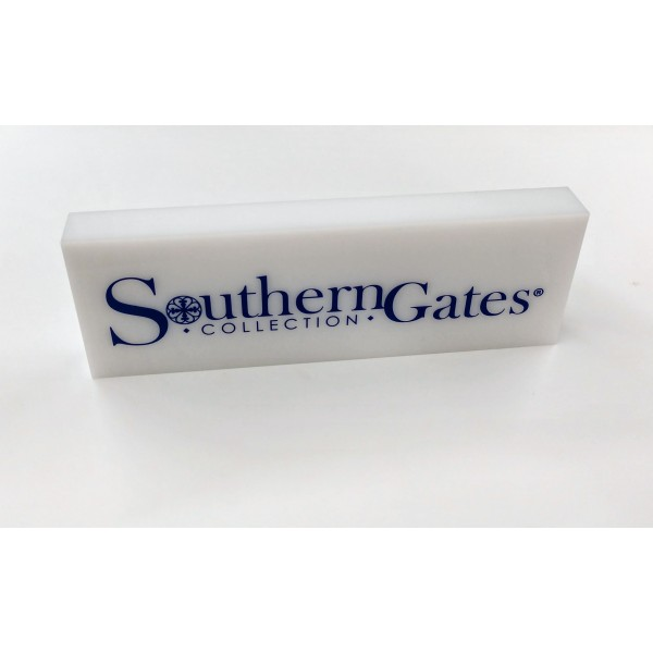 Southern Gates® Acrylic Name Block