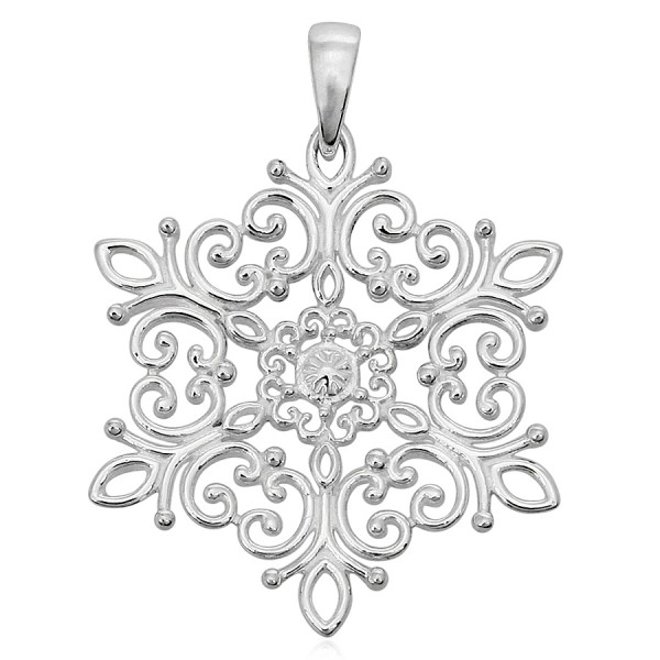 Southern Gates Holiday Snowflake Pendant