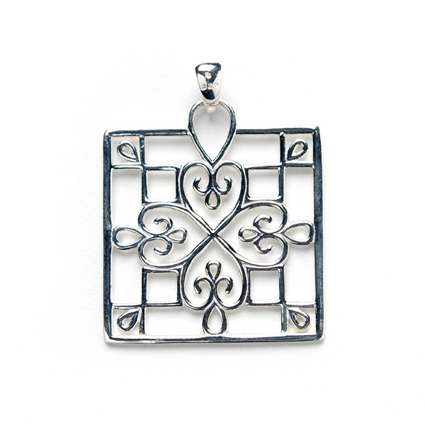 Southern Gates Collection Square Window Pendant