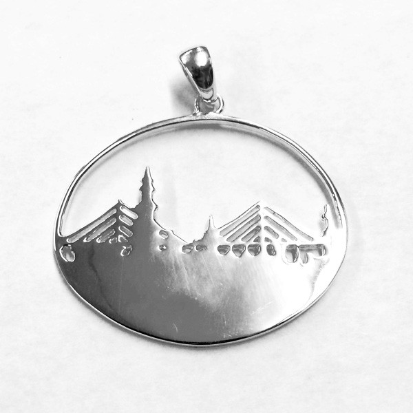Charleston Skyline Pendant, CARGO® Jewelry