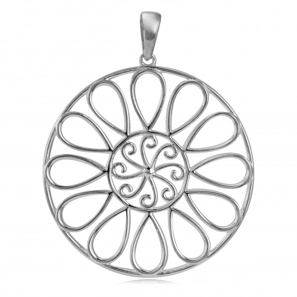 Southern Gates® Large Open Spiral Pendant, P948