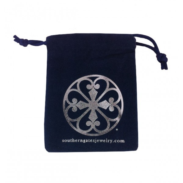 Southern Gates Jewelry Pouch