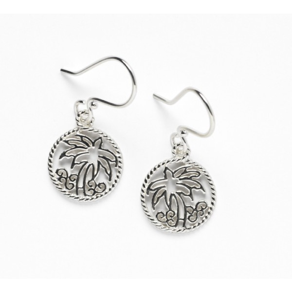 Southern Gates® Harbor Series Palm Tree Earrings