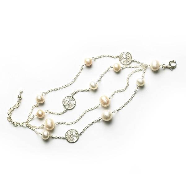 Southern Gates Pearl Bracelet (B217)