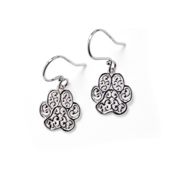 "Southern Gates® ""Lucy"" Paw Earrings"