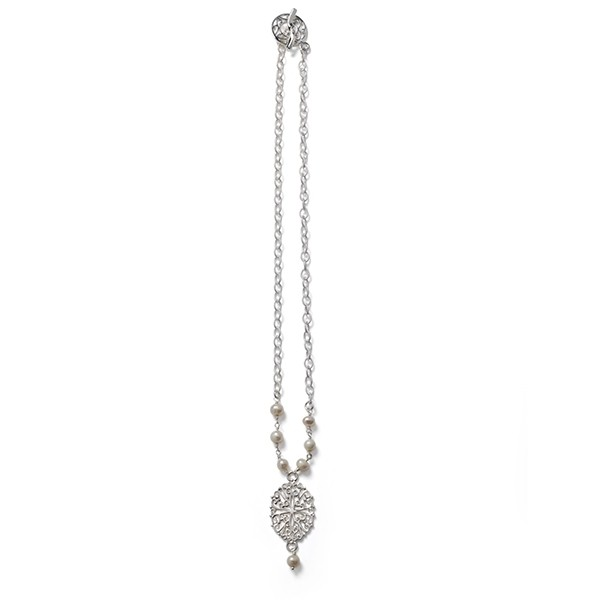Hand Wrought Ornamental Southern Gates Necklace (JK38w)