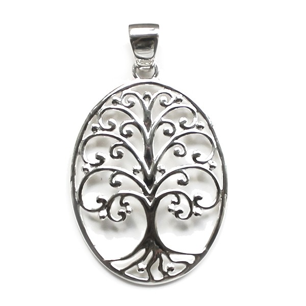 Southern Gates Oval Tree of Life Pendant (P202)