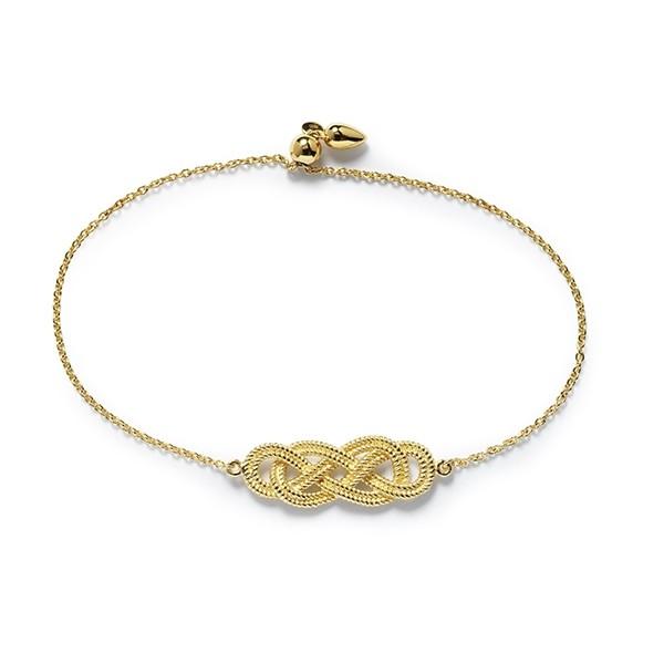 Southern Gates® Harbor Series Rope Knot Bracelet (B309) GP
