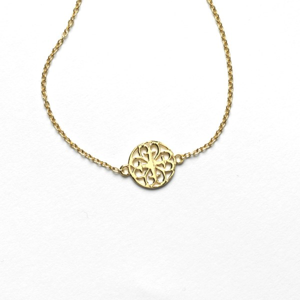 Southern Gates Gold Plated Charm Necklace