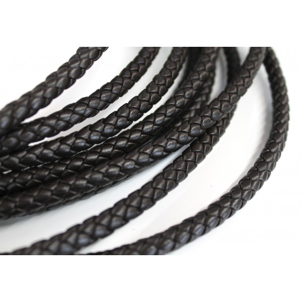8.0mm Braided Nappa Leather (Available in Multiple Colors)