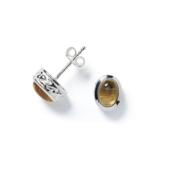 E618C Mary Citrine Earrings