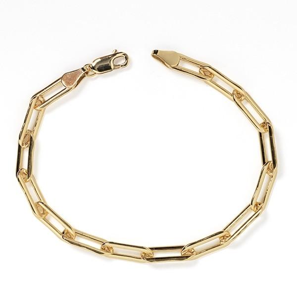 Southern Gates® Gold Filled Paper Clip Bracelet
