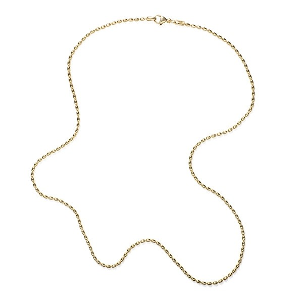 NATRB18 1.8mm Gold Filled Rice Bead Chain