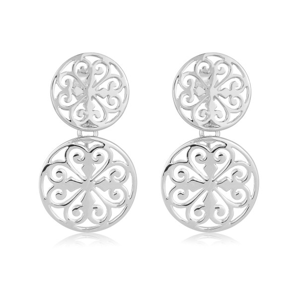 Southern Gates Inspiration Scroll Earrings E280