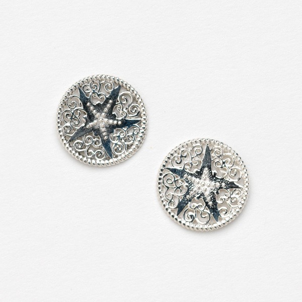 Southern Gates Collection Harbor Series Starfish Earrings