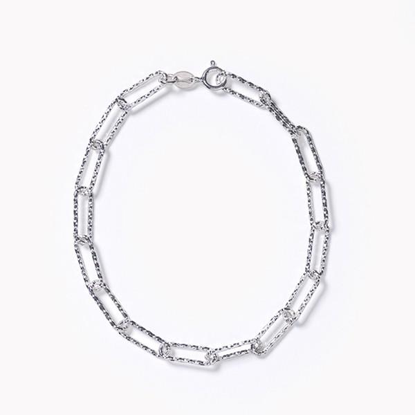 Southern Gates® Rectangle Rolo SS Bracelet