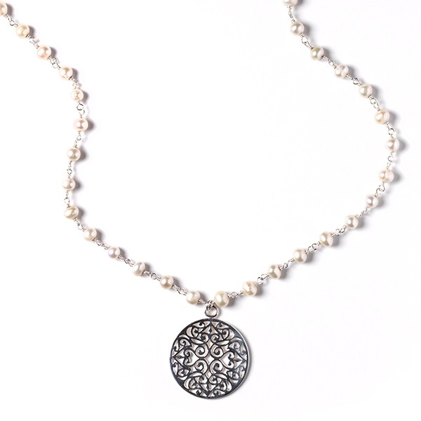 """Southern Gates® Classic Handmade 34"""" Pearl Necklace"""