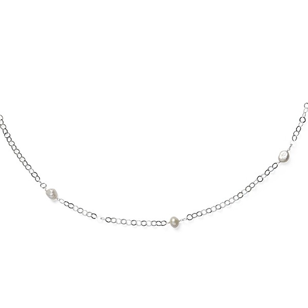 Southern Gates® Sterling Silver Necklace with Freshwater Pearls
